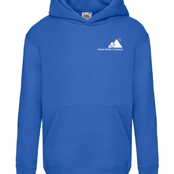 Great British Campout Kids Hooded Sweatshirt