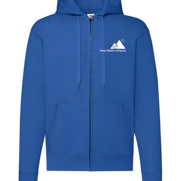 Great British Campout Zipped Hoody