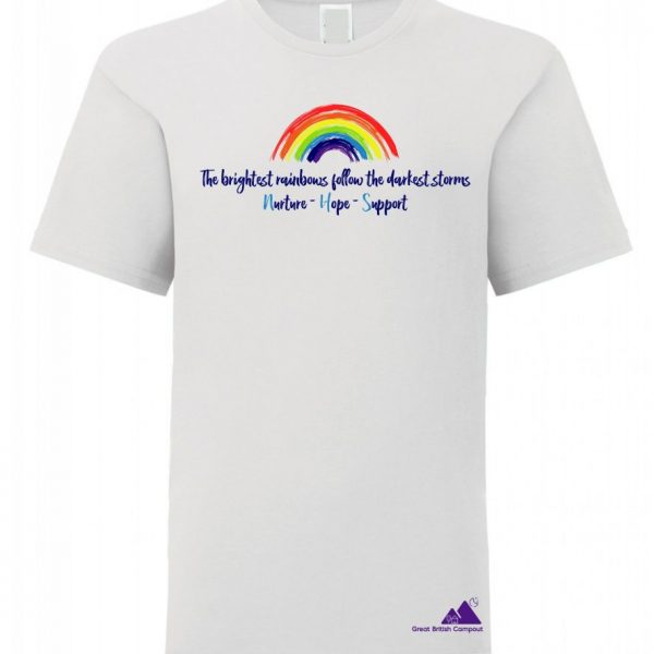 Great British Campout Kids NHS Rainbow T-Shirt