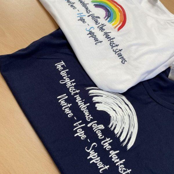 NHS Rainbow Ladies T-Shirts
