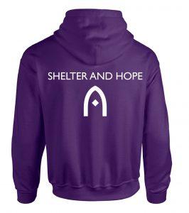 Purple Hood Back