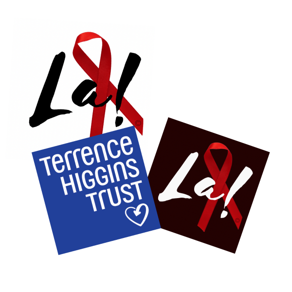 La! Red Ribbon - Terrence Higgins Trust