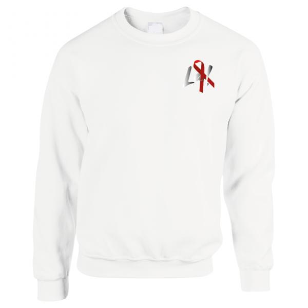 La! Red Ribbon Sweatshirt