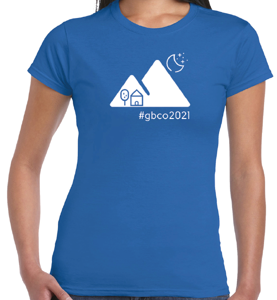 The 2021 Great British Campout T-Shirt – Ladies