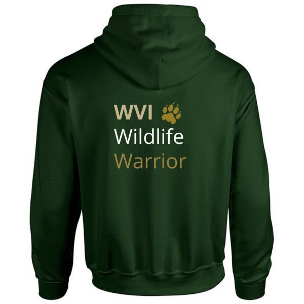 Wildlife Vets International Unisex Hoodie – Paw Print Design