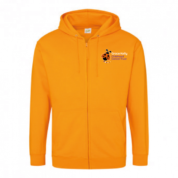 Grace Kelly Childhood Cancer Trust – Zip Hoodie