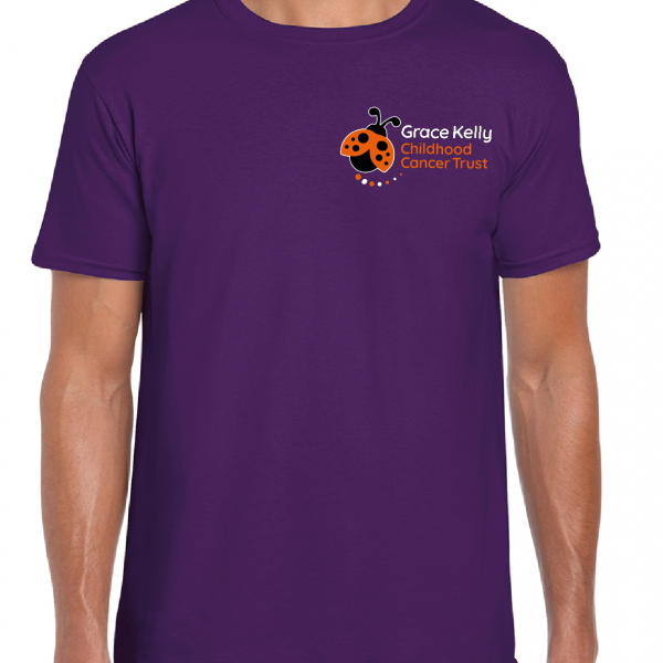 Grace Kelly Childhood Cancer Trust, Adult T-shirt