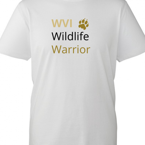 Wildlife Vets International Children's T-shirt – Paw Design