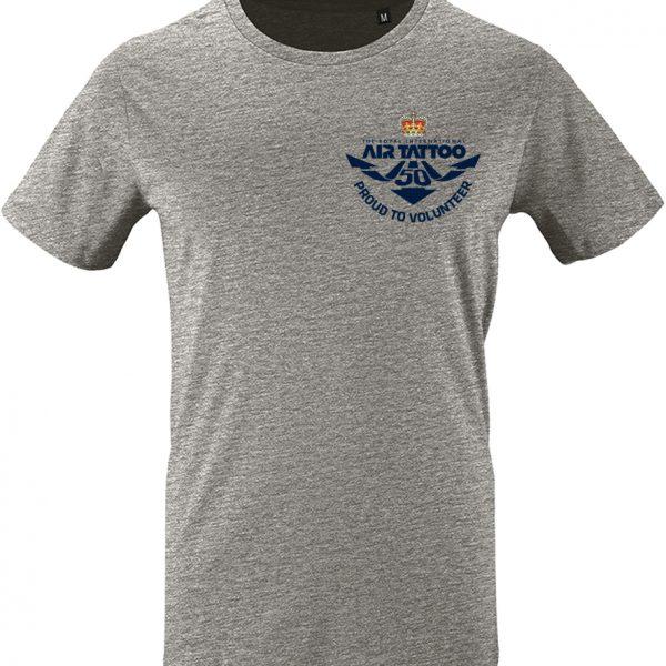 Protected: Unisex T-shirt – small print (blue) left chest/Trust logo print left sleeve