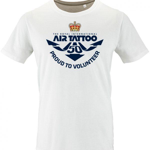 Protected: Unisex T-shirt – large print (blue) left chest/Trust logo print left sleeve