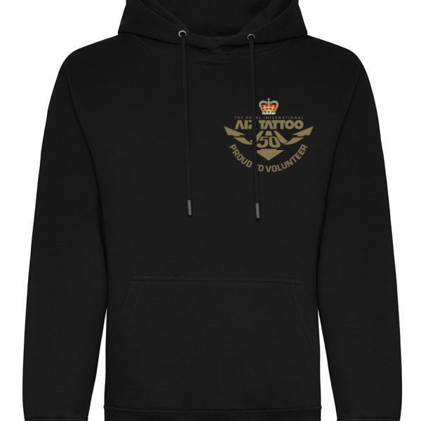 Protected: Hoodie – small embroidery (gold) left chest/Trust logo embroidery left sleeve