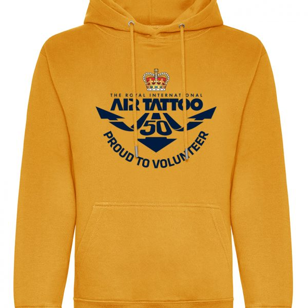Protected: Hoodie – large print (blue) front/Trust logo print left sleeve