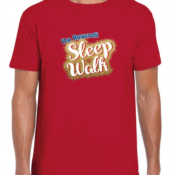 Rowcroft Hospice Sleep Walk T-shirts