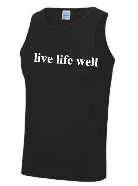 Time Together Live Life Well Man's Vest