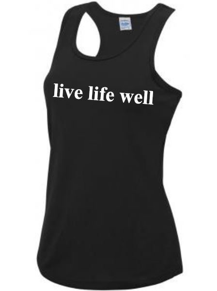 Time Together Live Life Well Ladies Vest